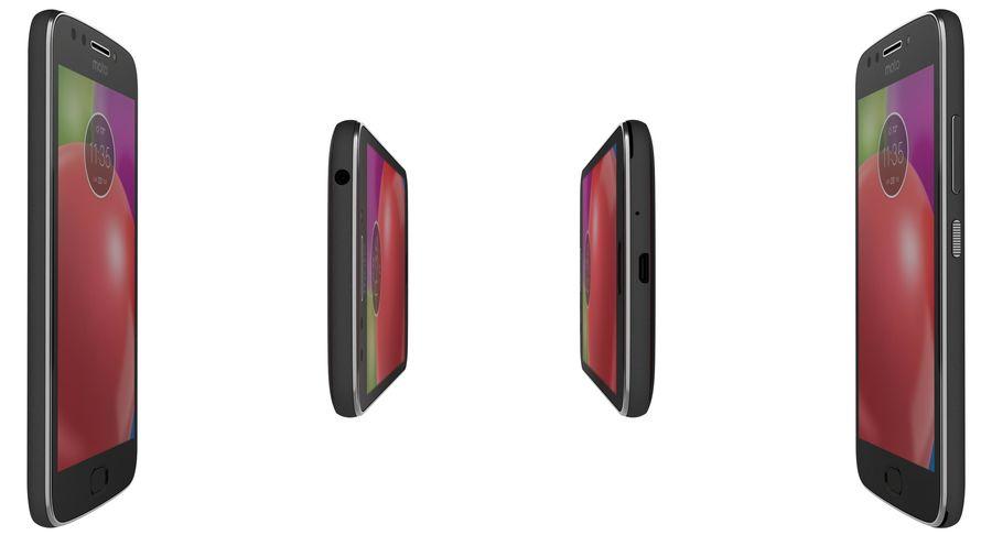 Motorola Moto E4 Licorice Black royalty-free 3d model - Preview no. 11
