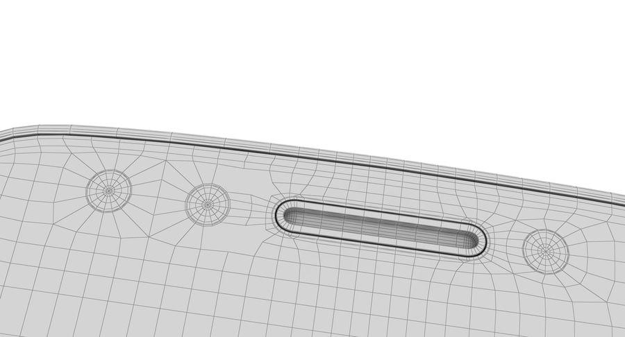 Motorola Moto E4 Licorice Black royalty-free 3d model - Preview no. 29