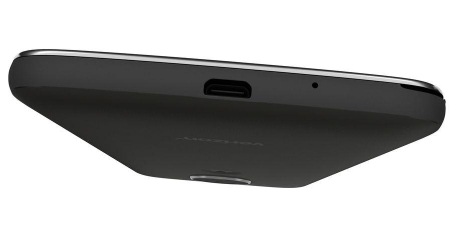 Motorola Moto E4 Licorice Black royalty-free 3d model - Preview no. 17