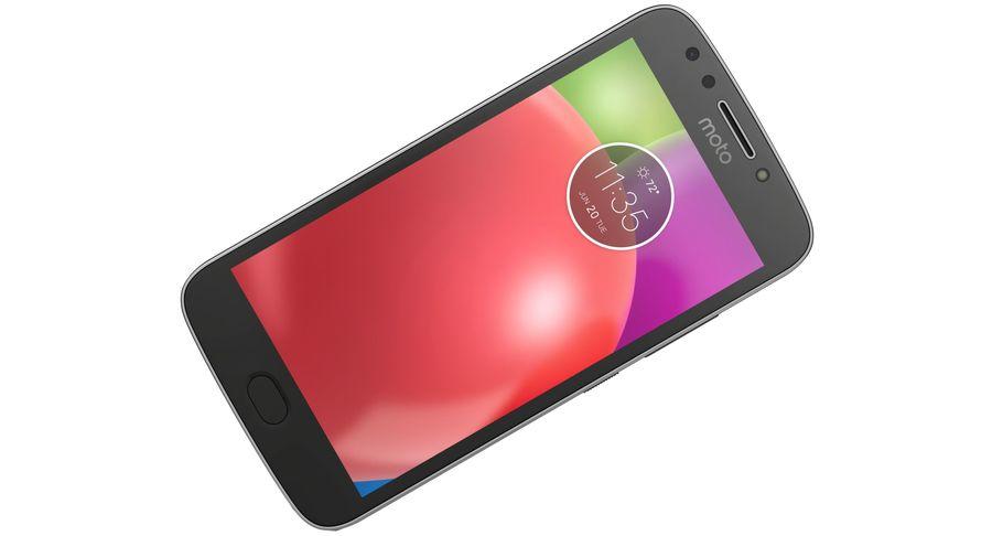 Motorola Moto E4 Licorice Black royalty-free 3d model - Preview no. 12