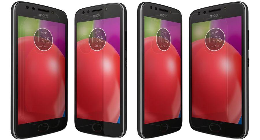 Motorola Moto E4 Licorice Black royalty-free 3d model - Preview no. 2