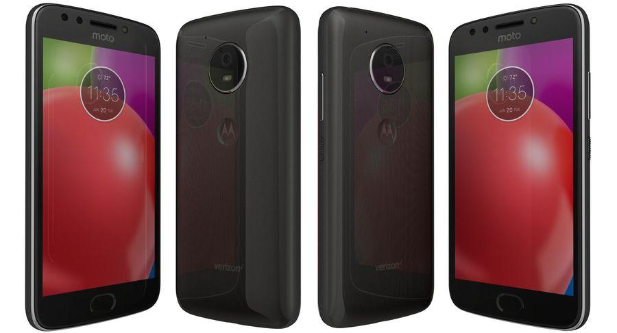 Motorola Moto E4 Licorice Black royalty-free 3d model - Preview no. 3