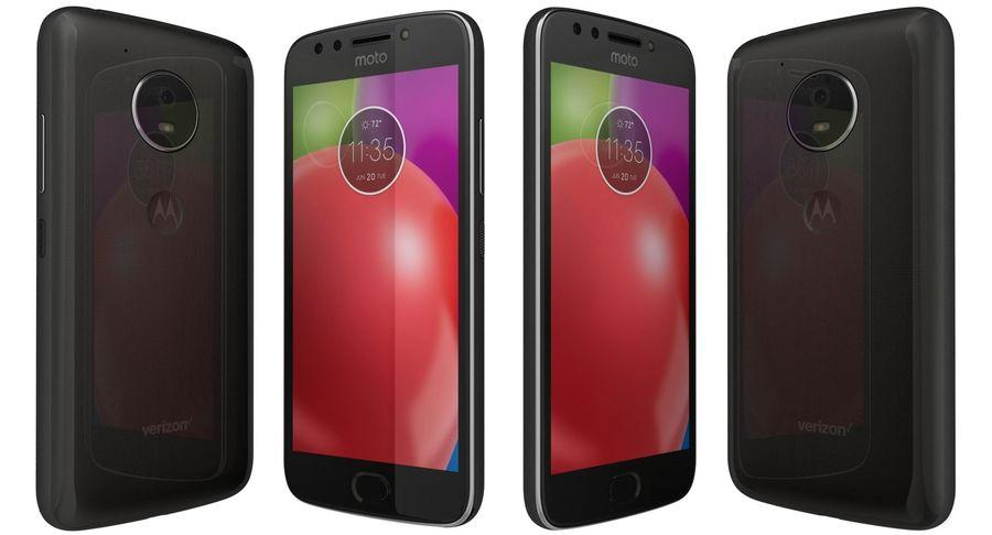 Motorola Moto E4 Licorice Black royalty-free 3d model - Preview no. 1