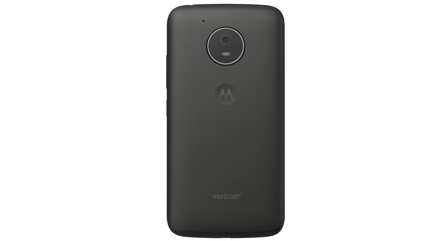 Motorola Moto E4 Licorice Black royalty-free 3d model - Preview no. 10
