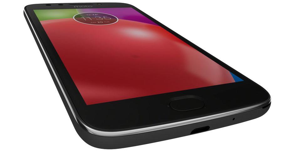 Motorola Moto E4 Licorice Black royalty-free 3d model - Preview no. 18