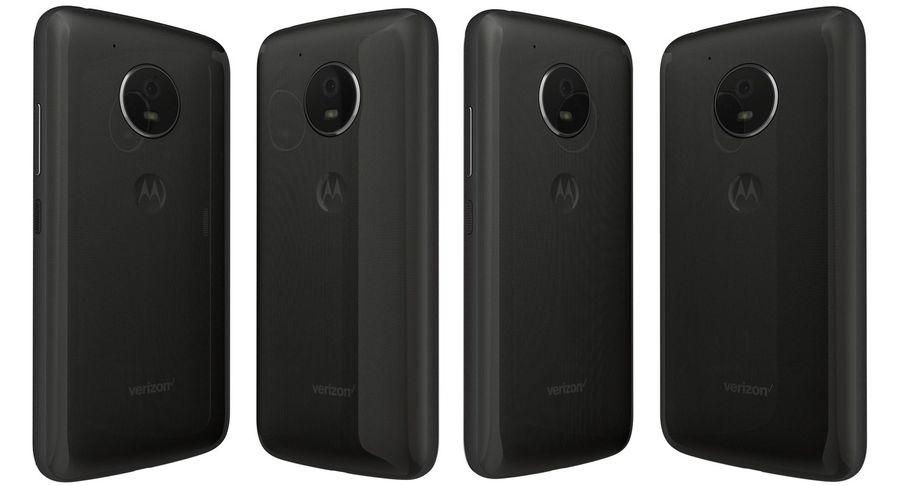 Motorola Moto E4 Licorice Black royalty-free 3d model - Preview no. 4