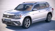 Volkswagen Atlas R-Line 2018 modelo 3d