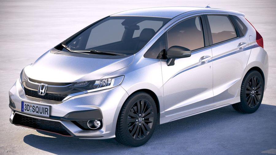 Honda Jazz 2018 3D Model $129 -  obj  max  lwo  fbx  c4d  3ds - Free3D