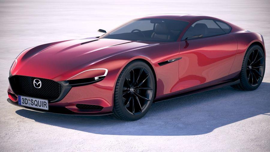 Mazda RX-9 Vision Concept 3D Model $129 - .c4d .obj .max ...