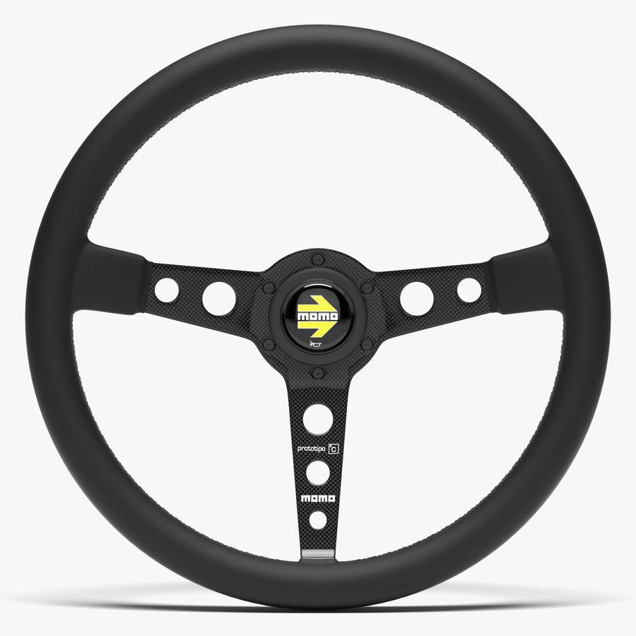 Momo Prototipo Steering Wheel 3D Model $18
