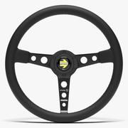 Momo Prototipo Steering Wheel 3d model