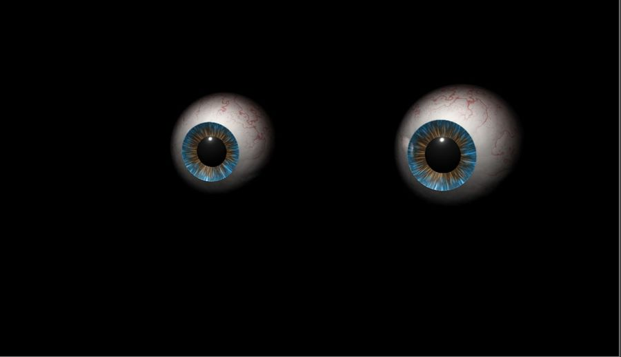 Realist İnsan Gözü - Teçhizatlı royalty-free 3d model - Preview no. 19
