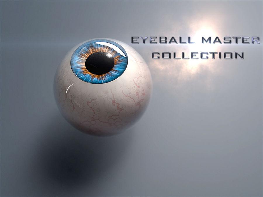 Realist İnsan Gözü - Teçhizatlı royalty-free 3d model - Preview no. 12