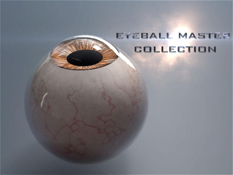 Realist İnsan Gözü - Teçhizatlı royalty-free 3d model - Preview no. 13