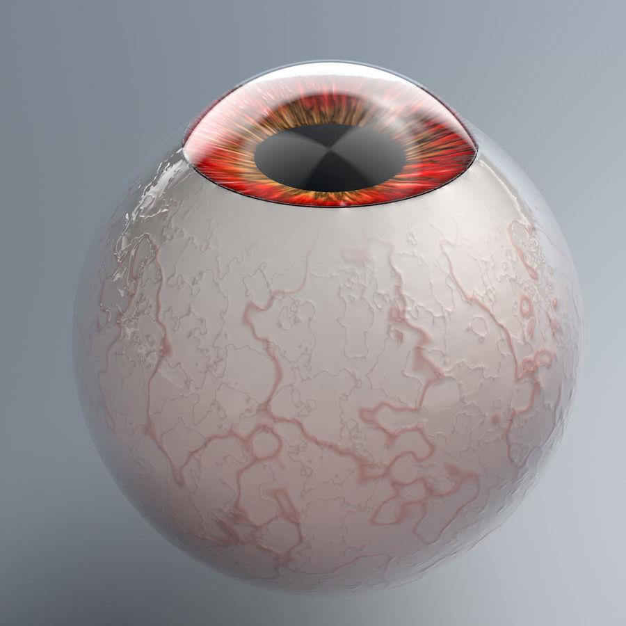 Realist İnsan Gözü - Teçhizatlı royalty-free 3d model - Preview no. 6
