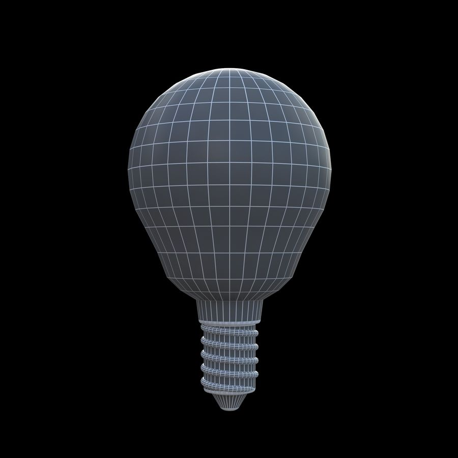 Lightbulb royalty-free 3d model - Preview no. 4