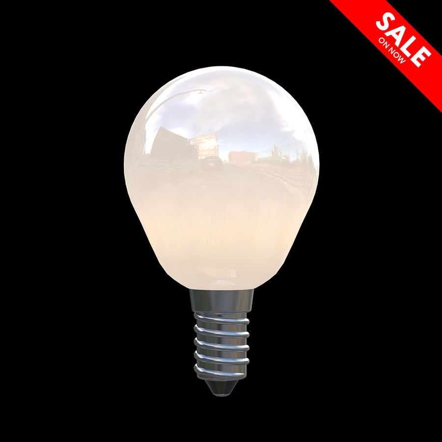 Lightbulb royalty-free 3d model - Preview no. 1