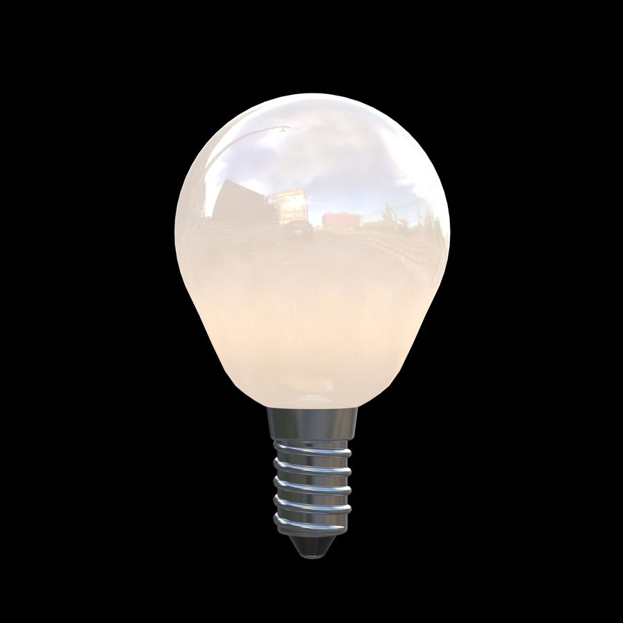 Lightbulb royalty-free 3d model - Preview no. 2