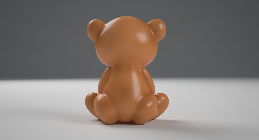 Teddy Bear royalty-free 3d model - Preview no. 7