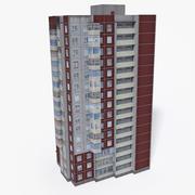 Lowpoly East Europe Building 20 3d model