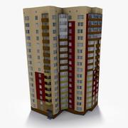 Lowpoly East Europe Building 17 3d model