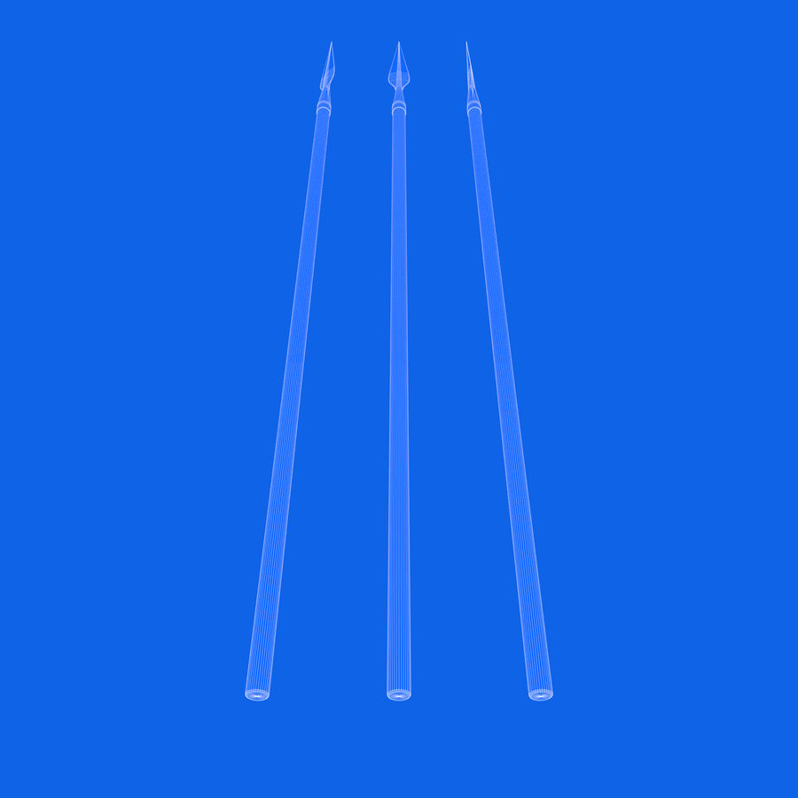 Steel Spear royalty-free 3d model - Preview no. 8
