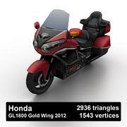 Honda GL1800 Gold Wing 2012 3d model