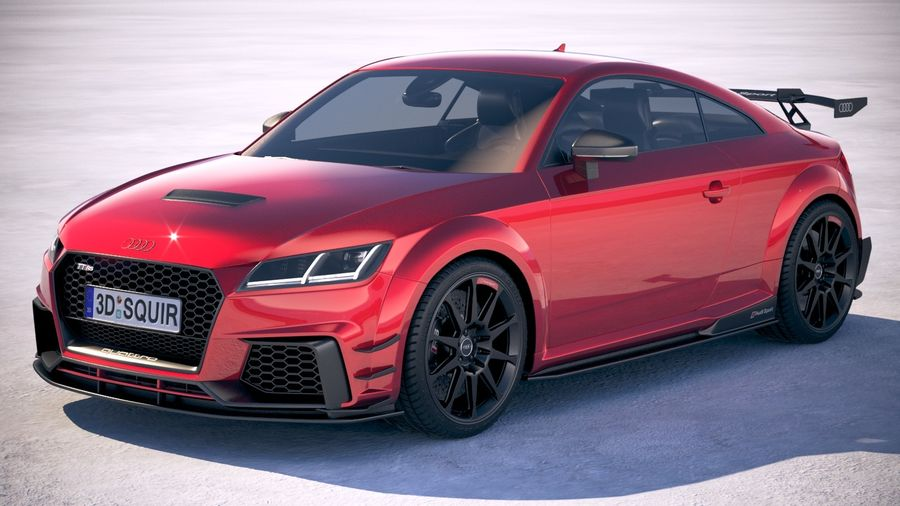 Audi TT RS performance 2018 3D Model $129 - .obj .max .lwo .fbx .c4d ...