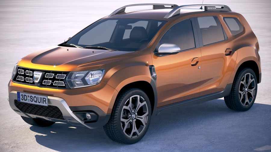 dacia duster 2018 3d model 129 obj max lwo fbx c4d 3ds free3d. Black Bedroom Furniture Sets. Home Design Ideas