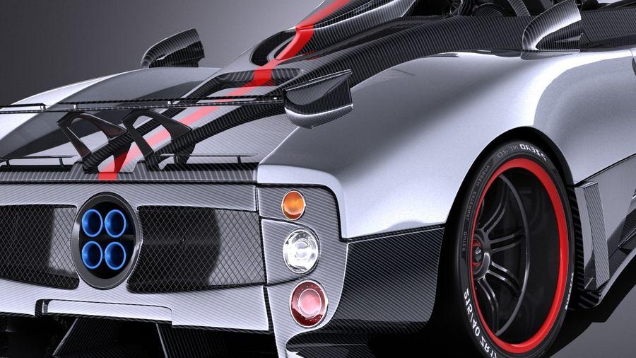 Pagani Zonda Cinque Roadster 2011 Vray 3d Model 129 Obj X