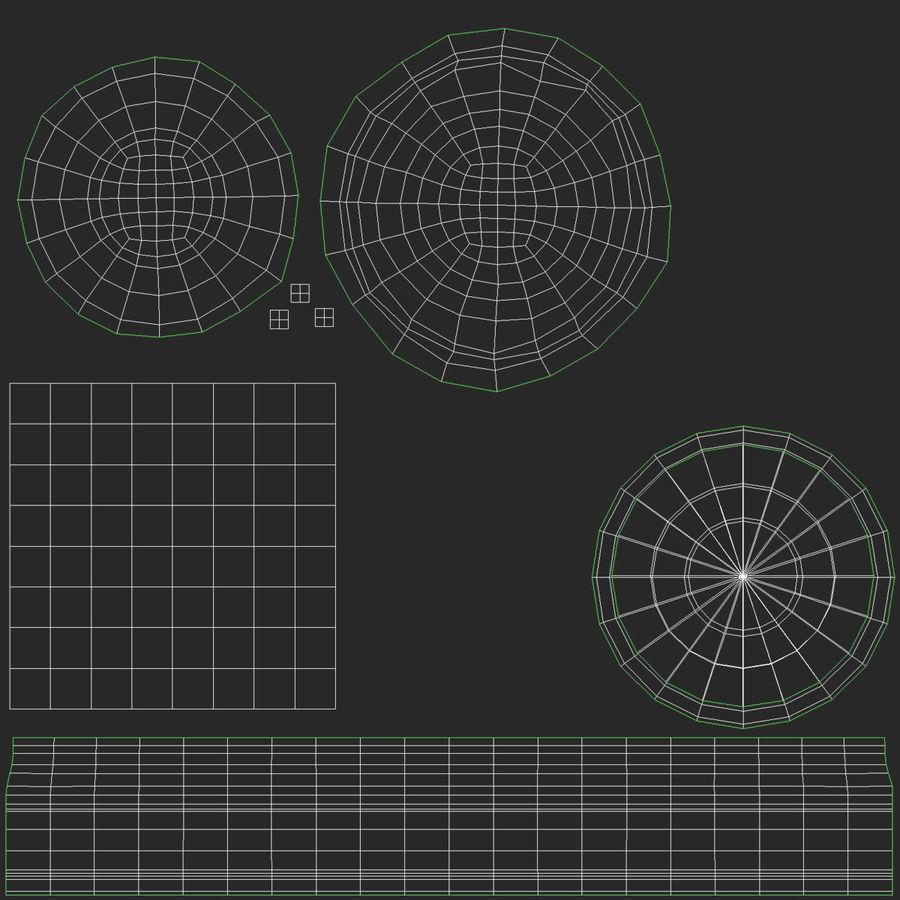 snow globe royalty-free 3d model - Preview no. 8
