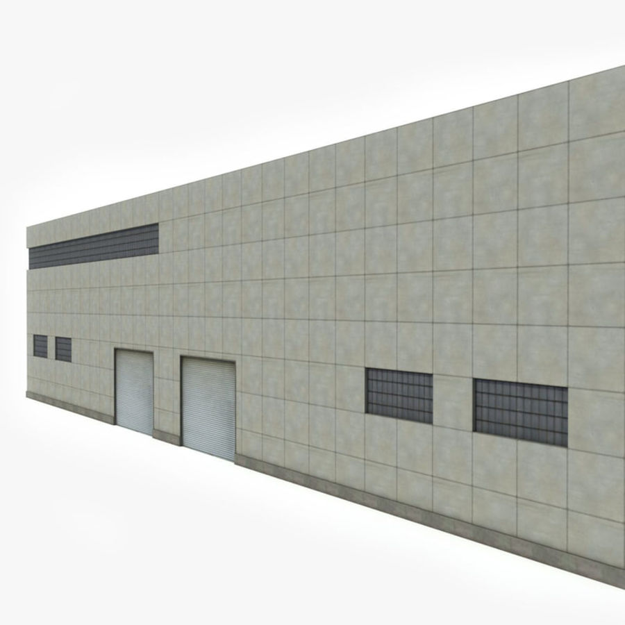 Warehouse Building royalty-free 3d model - Preview no. 4