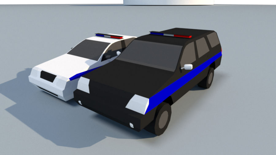 Collection Vehicle Modern Pack [71] (LOW POLY) royalty-free 3d model - Preview no. 35
