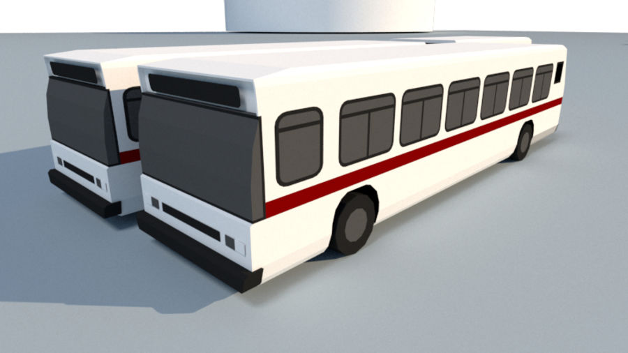 Collection Vehicle Modern Pack [71] (LOW POLY) royalty-free 3d model - Preview no. 17