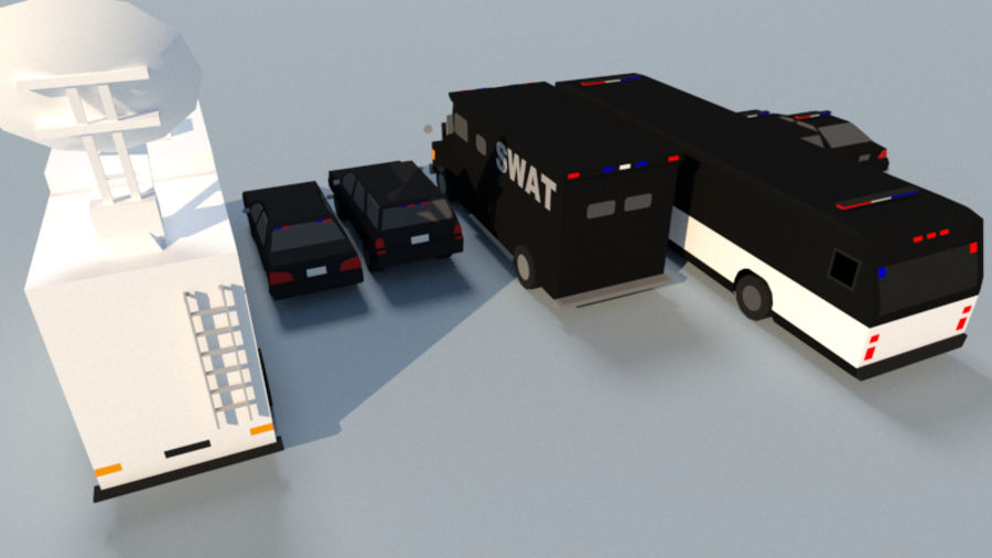 Collection Vehicle Modern Pack [71] (LOW POLY) royalty-free 3d model - Preview no. 33