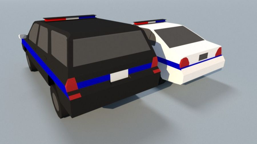 Collection Vehicle Modern Pack [71] (LOW POLY) royalty-free 3d model - Preview no. 36