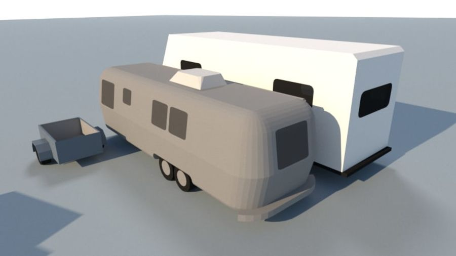 Collection Vehicle Modern Pack [71] (LOW POLY) royalty-free 3d model - Preview no. 24