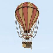 air balloon 3d model