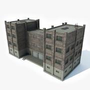 Factory Building 6 3d model
