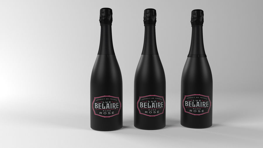Belaire Champaigne royalty-free 3d model - Preview no. 1