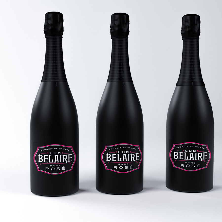 Belaire Champaigne royalty-free 3d model - Preview no. 4