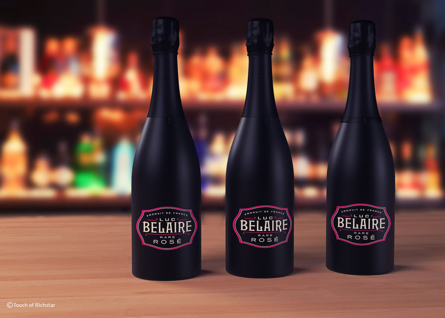 Belaire Champaigne royalty-free 3d model - Preview no. 3