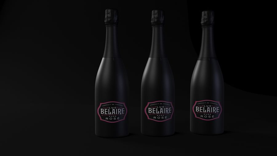 Belaire Champaigne royalty-free 3d model - Preview no. 2