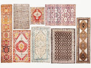 Carpet woven vintage turkish vol 02 3d model