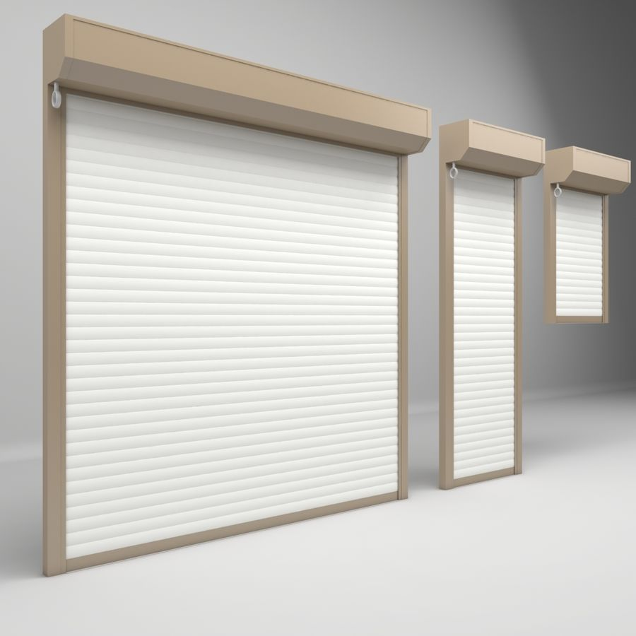 Garage Door Electric Roller Shutters 3d Model 19 Oth X Free3d