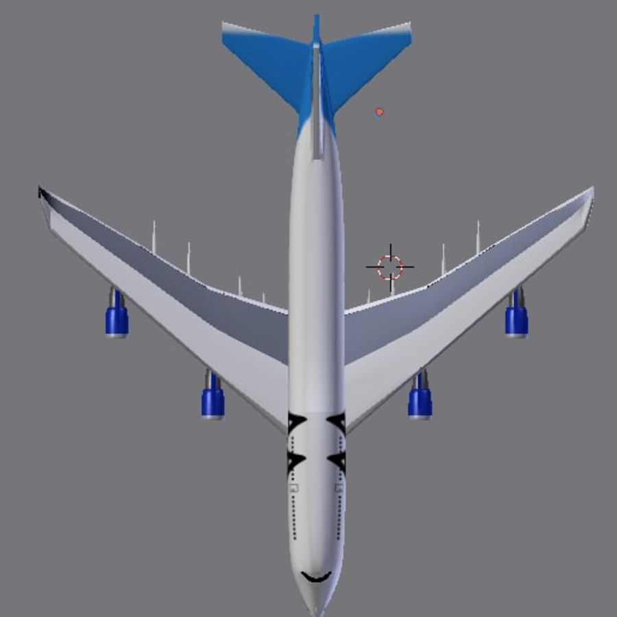 AirCraft High Poly royalty-free 3d model - Preview no. 5
