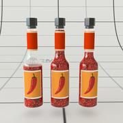 Chilli Sauce Bottle 3d model