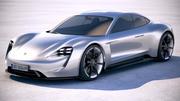 Porsche Mission E Concept 2015 Bonneville 3d model