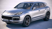 Porsche Cayenne Turbo 2018 3d model