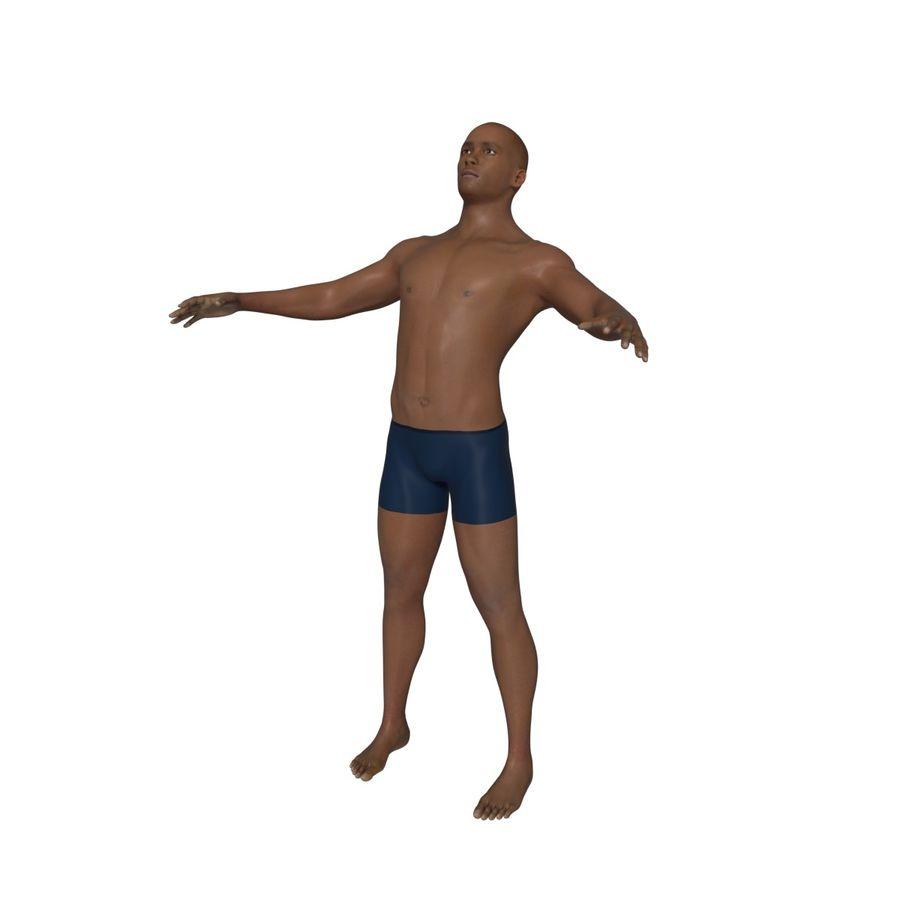 Man 3D royalty-free 3d model - Preview no. 9